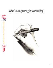 What_s_Going_Wrong_in_your_Writing.pptx