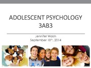 Sept 18 3AB3 psych