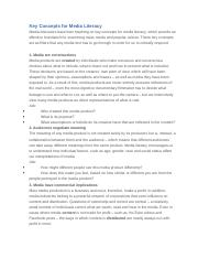 mother tongue questions what point is tan making the 2 pages key concepts for media literacy