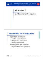 aeghbal_Chapter 3 Arithmetic for Computers