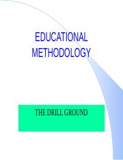 9- THE DRILL GROUND