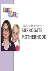 8 Surrgoate Mothers