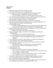 Phil 119 Notes 6