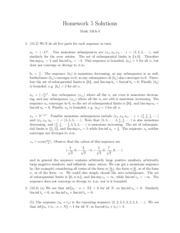 Math 131A Homework 5 Solutions