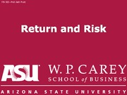 FIN302 06 Risk and return