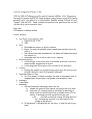 Contracts Assignment 27