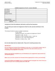 Assignment 2 Part B Answer Booklet