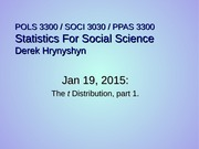 lecture 15 t distribution pt 1