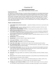 Study Guide Ch. 32 Industrial Revolution Early