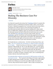BB #18 Making The Business Case For Diversity