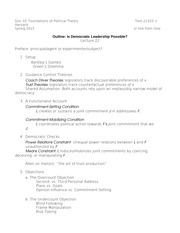 Lecture Outline for Lecture 22