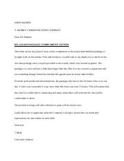 1st Draft of Letter of compliment for student 2.docx