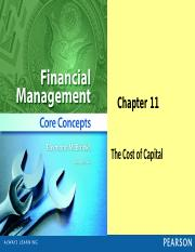 Chapter 11 PP (Cost of Capital)(1) (1).pptx