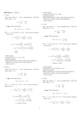 Homework 15 Solution Winter 2008 on Ordinary Differential Equations