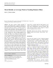 (GN) Moral identity as leverage point in teaching business ethics.pdf
