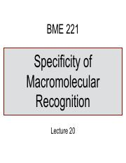 Lecture-20-Specificity