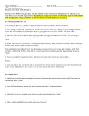 Romeo and Juliet Acts II and III Study Guide eLearning (3) (AutoRecovered).doc