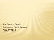 AAST 502 Race and Death Penalty Presentation