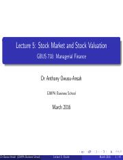 Lecture 5 - Stock valuation.pdf
