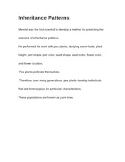 Inheritance Patterns