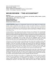 Movie Review-The Accountant.docx