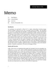CE312 Permeability Memo