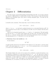chap02 - differentiation