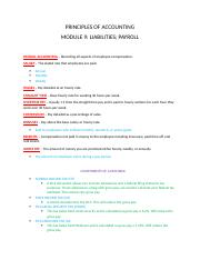 Accounting Module 9 Liabilities Payroll.docx
