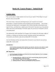 08a - COURSE PROJECT -  Week 4 - Initial Draft (Instructions).docx