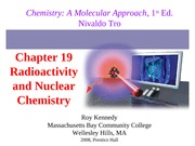 19 - Nuclear Chemistry