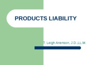 H_-_PRODUCTS_LIABILITY
