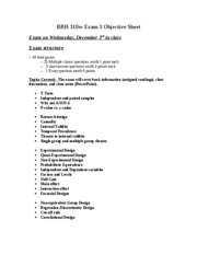 BBH_310w_Exam_3_Objective_Sheet_FA08