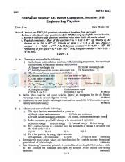 (www.entrance-exam.net)-VTU, Bangalore 1st Semester Physics Cycle- Engineering Physics Sample Paper