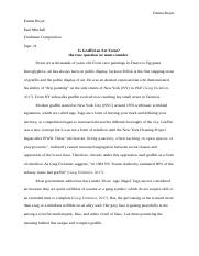 enc florida state university course hero 6 pages ethnographic paper docx