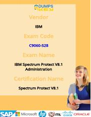 Pass C9060-528 IBM Spectrum Protect server Exam With Flying Colors