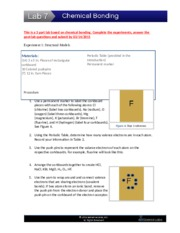 Chemical Bonding Experiments (2) (1)-1.doc