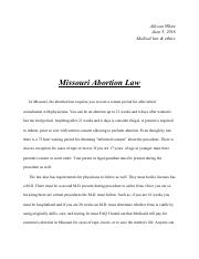 Extra credit medical law & ethics.pdf