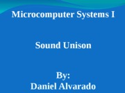 Microcomputer final presentation