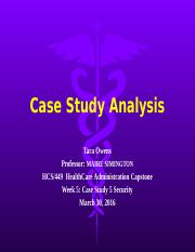 case study analysis university of phoenix Want to see some apa formatted examples of a ethics case study paper for the university of phoenix hcs 478 course find tons of example papers for this class here.