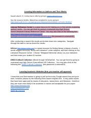 Research Tips for  Honors English III .docx