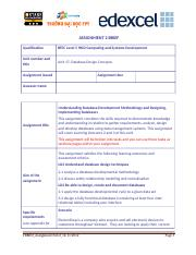 Database Design Concepts_Assignment Brief 2