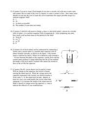 2003 Exam 2 extra problems