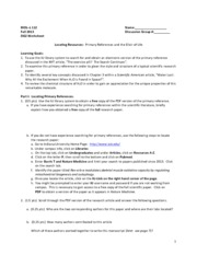 DG 2 worksheet