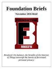 FoundationBriefsNov16PFBrief