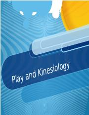 Play and Kinesiology(1) (2)