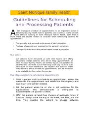 Scheduling Guidelines - for merge.docx