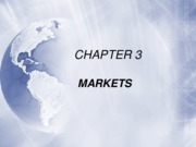 Chapter 3 - Markets