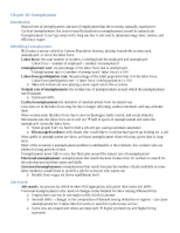 Macroecon- Ch. 28 notes