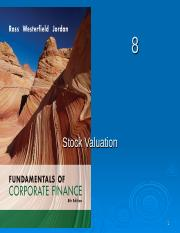 Chapter 8 - Stock Valuation_Student