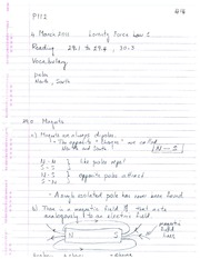 PHYS 112 Lecture 16 2010 Notes